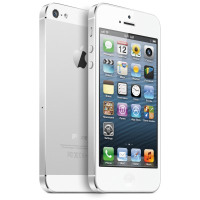 iPhone 5 32GB - White & Silver